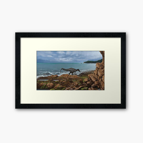 Baryonyx walkeri Framed Art Print