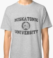 Miskatonic University (Black version) Classic T-Shirt