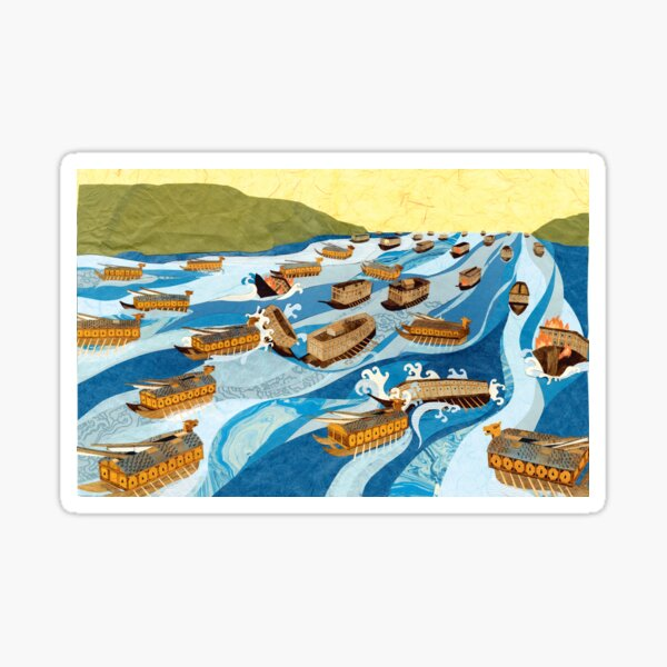 Turtle Ship: Sea Battle Sticker