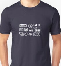 Camera Display  Unisex T-Shirt