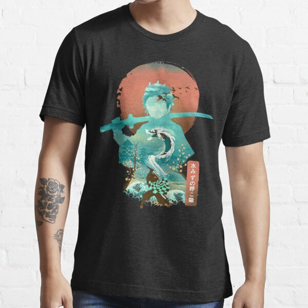 Water Dragon Rising Sun Essential T-Shirt