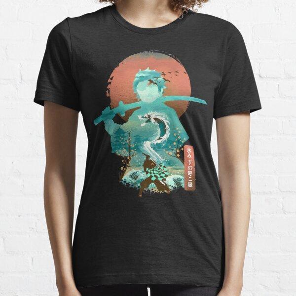 Water Dragon Rising Sun Essential T-Shirt
