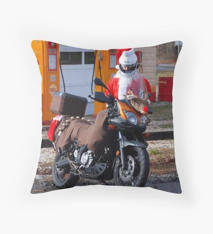 There are Raindeer and there are rides Throw Pillow