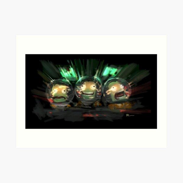Kerbal Space Program Art Art Print
