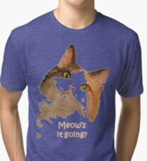Meow's It Going Tri-blend T-Shirt