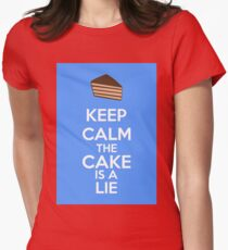 Keep Calm The Cake Is A Lie T-Shirt