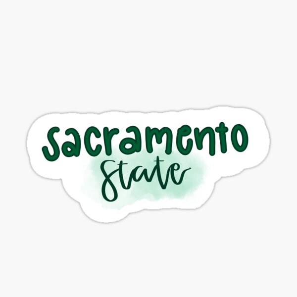 Sacramento State sticker  Sticker