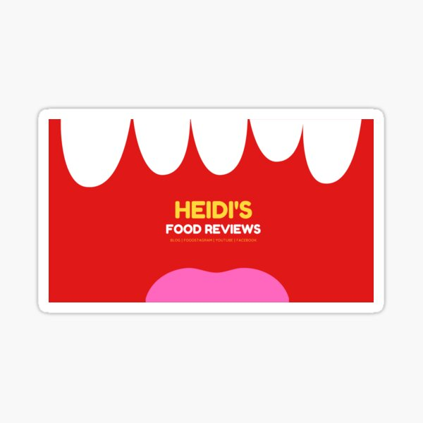 HFR Background Graphic Glossy Sticker