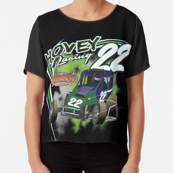 Hovey Racing #22 Chiffon Top
