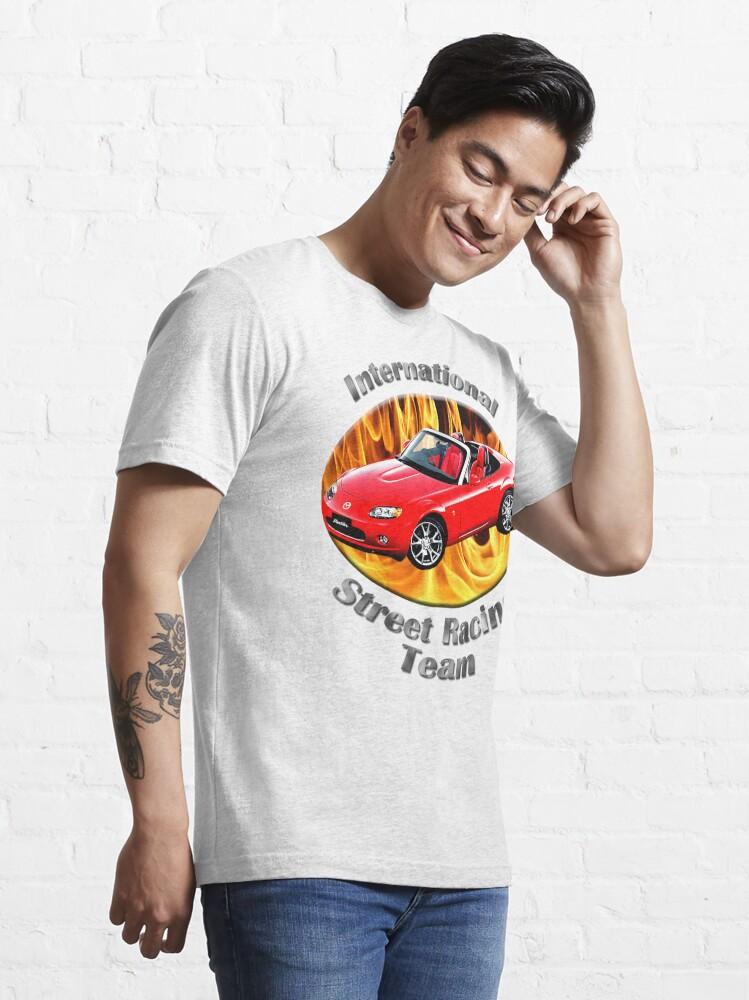 Alternate view of Mazda MX-5 Miata Street Racing Team Essential T-Shirt