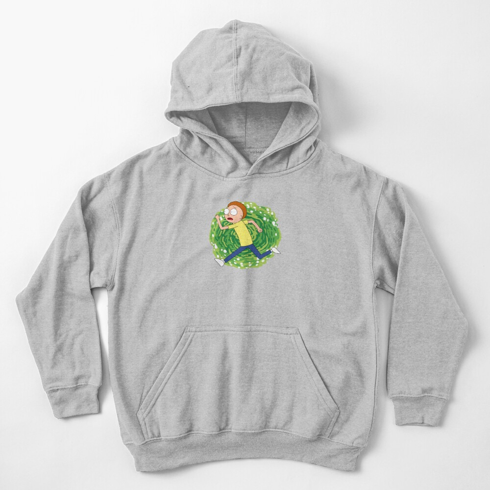 Morty Smith Kids Pullover Hoodie