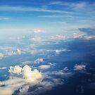 Deep Blue Sky  by Allison  Flores