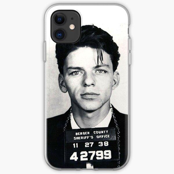 Frank Sinatra Mug Shot iPhone Soft Case