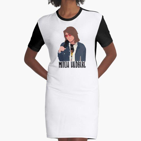 Mitch Hedberg Minimalist  Graphic T-Shirt Dress