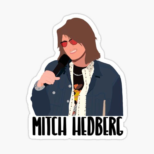 Mitch Hedberg Minimalist  Sticker