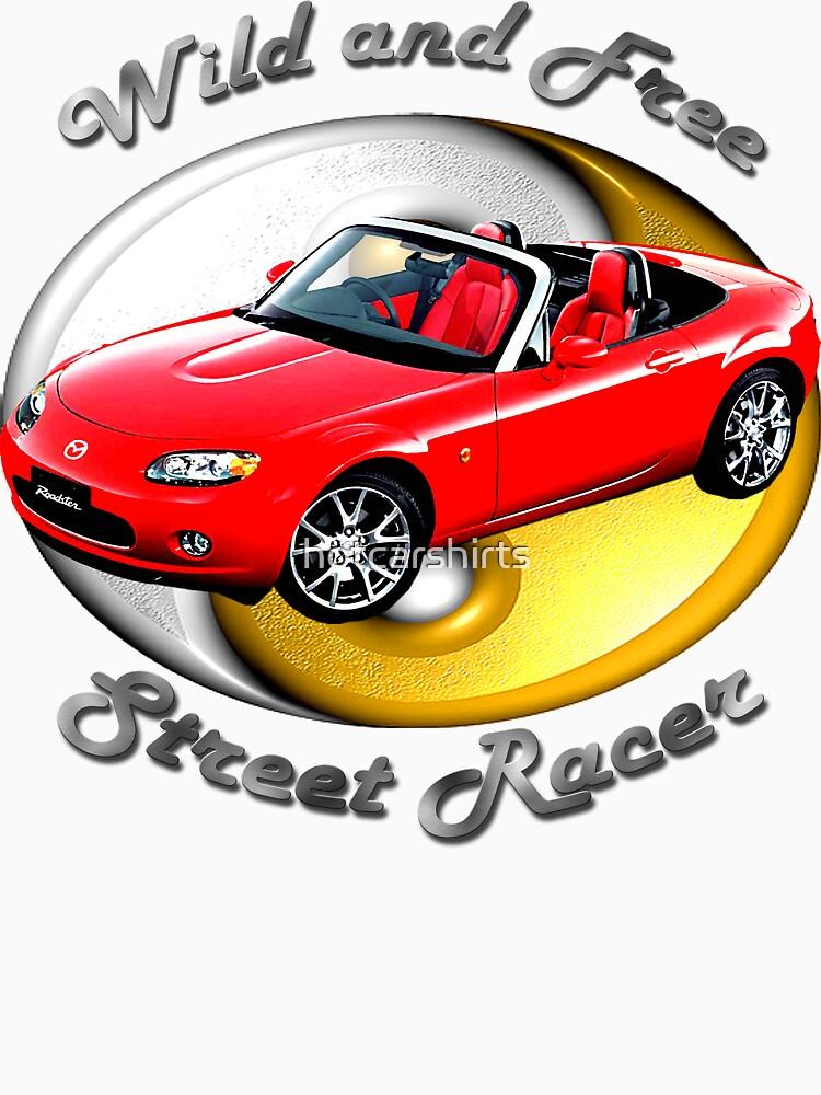 Mazda MX-5 Miata Wild and Free by hotcarshirts