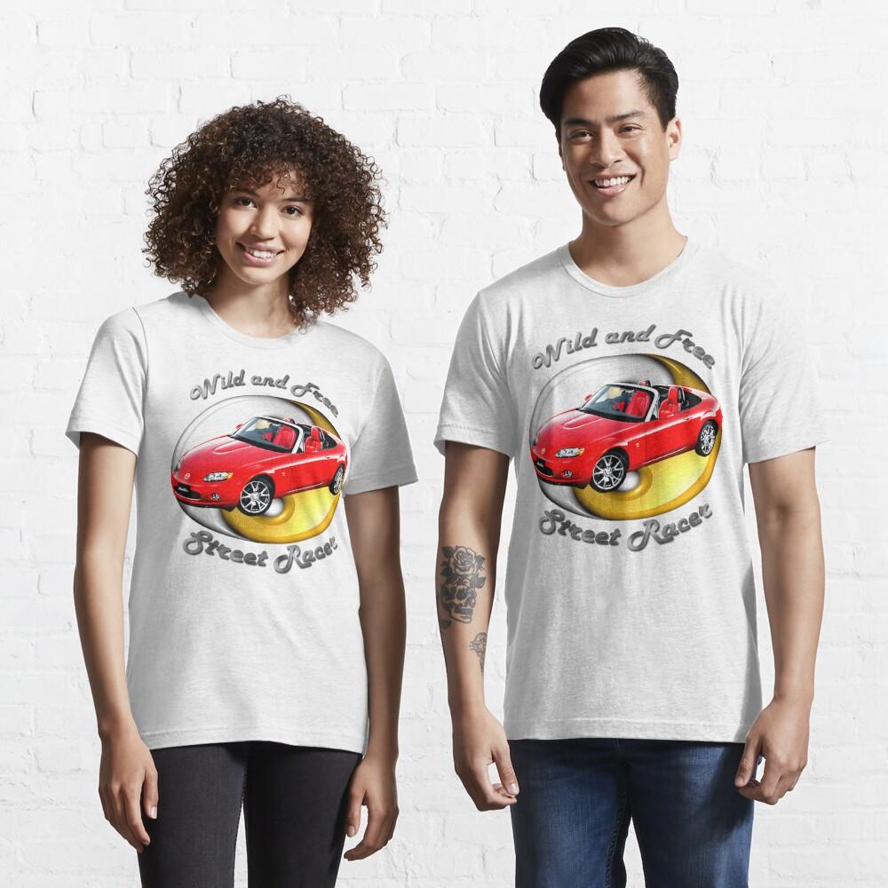Mazda MX-5 Miata Wild and Free Essential T-Shirt