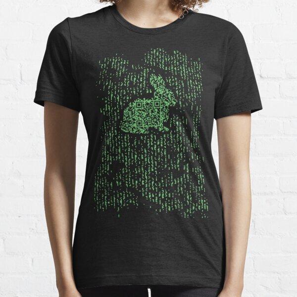 QR Matrix Essential T-Shirt