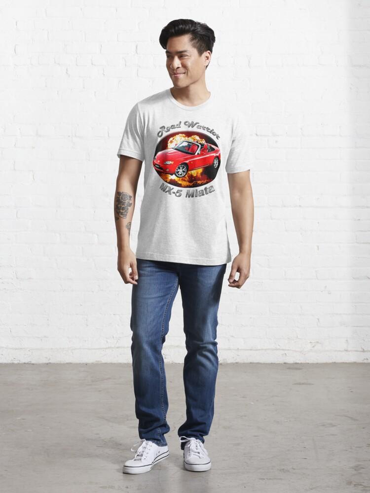 Alternate view of Mazda MX-5 Miata Road Warrior Essential T-Shirt