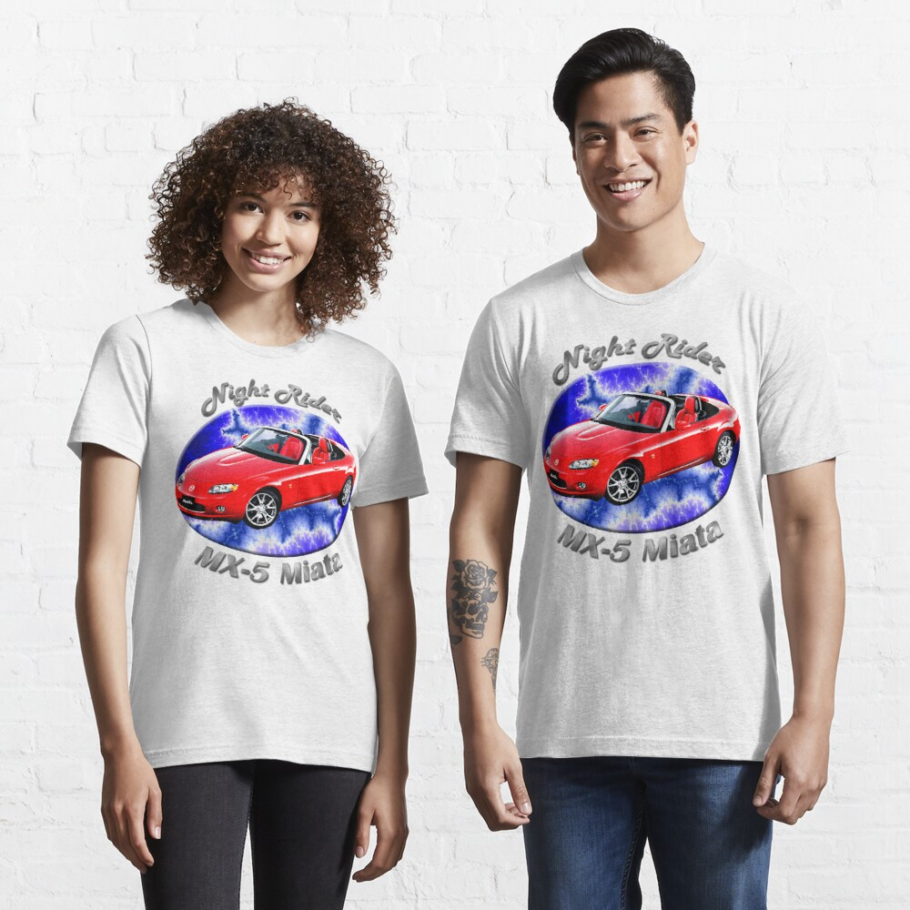 Mazda MX-5 Miata Night Rider Essential T-Shirt