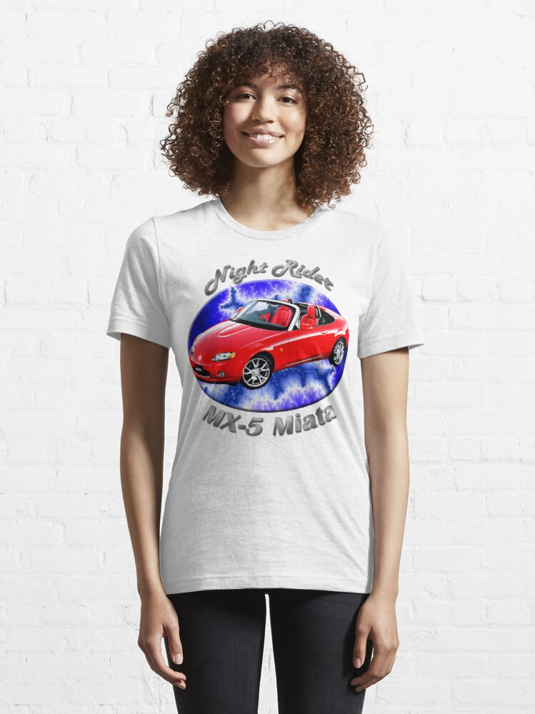 Alternate view of Mazda MX-5 Miata Night Rider Essential T-Shirt