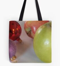 Like Comparing Apple to Ornaments Tote Bag
