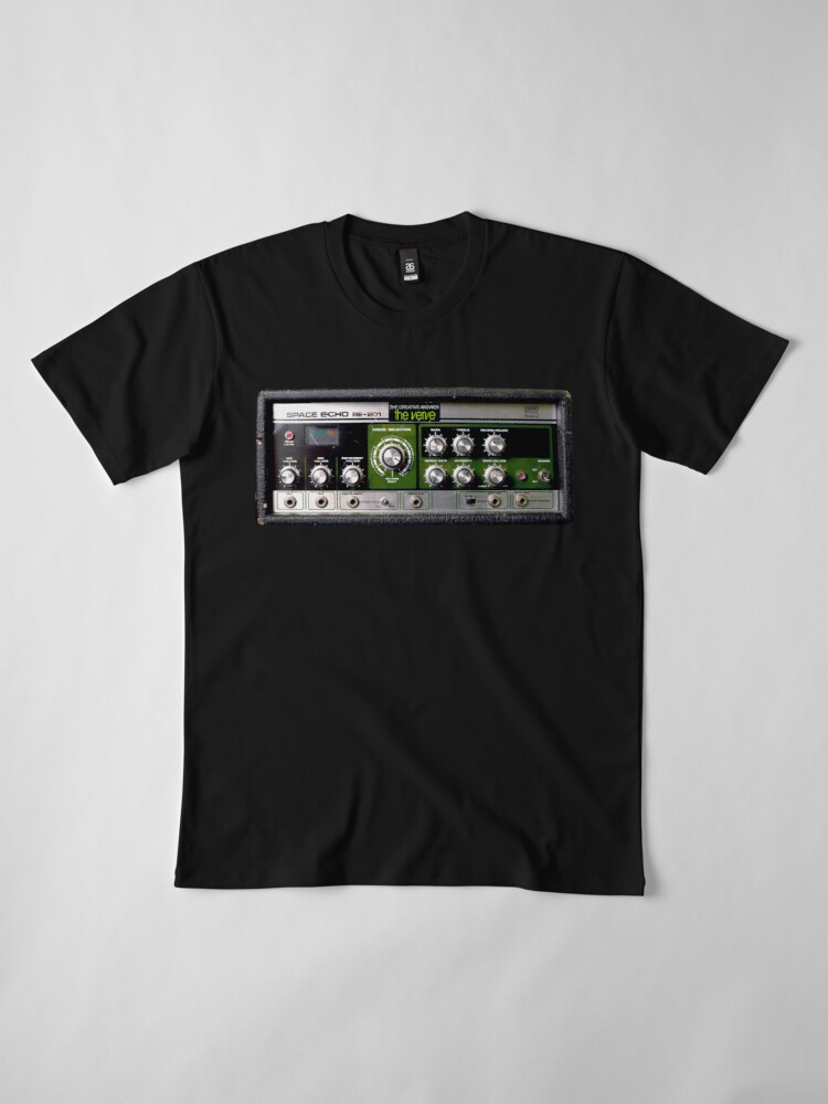 Alternate view of The Verve - Space Echo - The Creative Answer [RARE] Premium T-Shirt