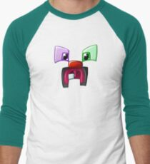 The Toothed Creeper Men's Baseball ¾ T-Shirt