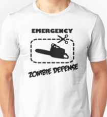 Emergency Zombie Defense Unisex T-Shirt