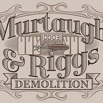 Murtaugh & Riggs Demolition by DoodleDojo