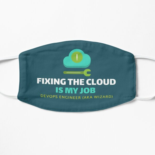 Fixing The Cloud is My Job Mask