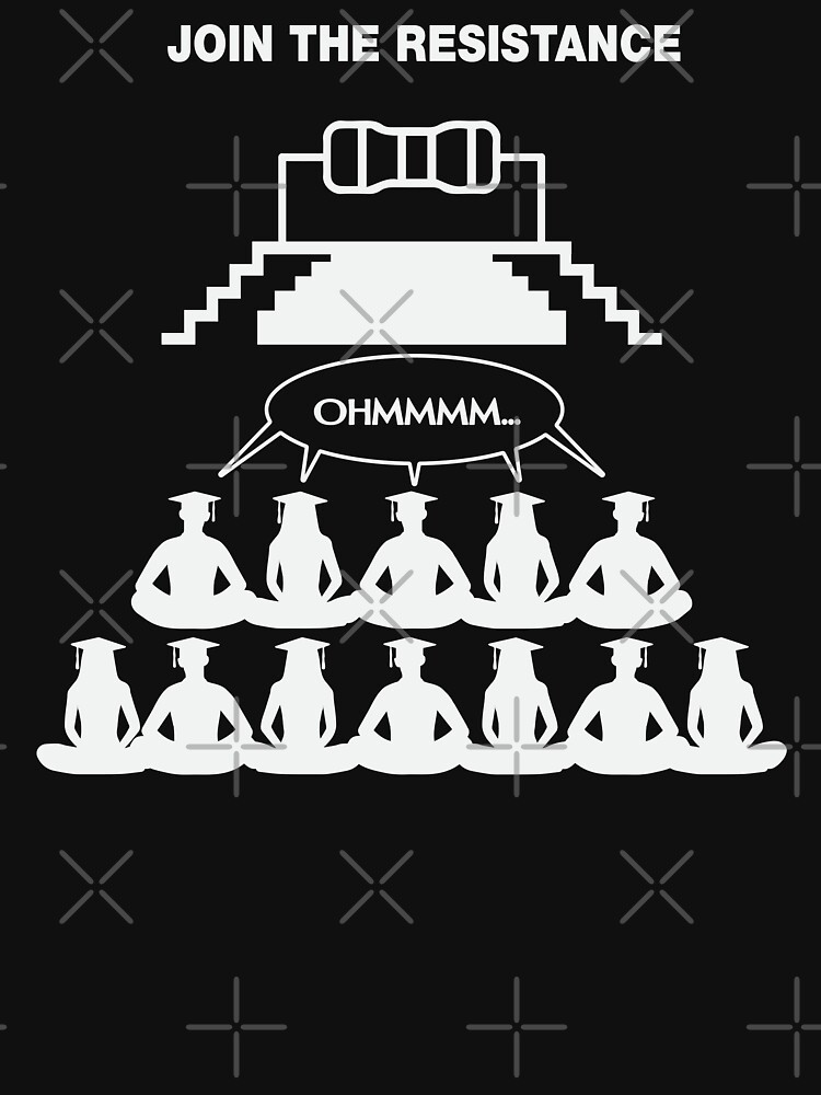 OHM Join The Resistance by lolotees