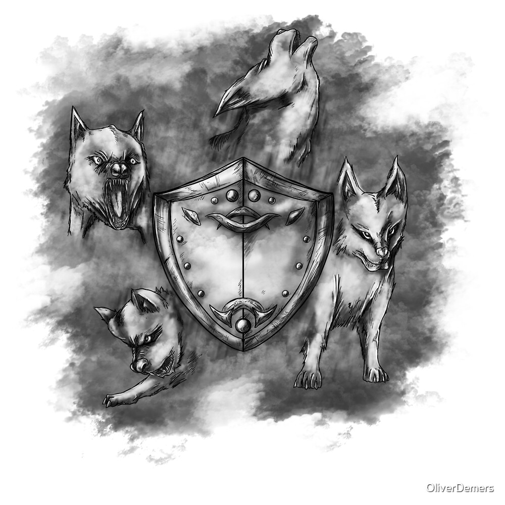Wolf Shield 01 by OliverDemers