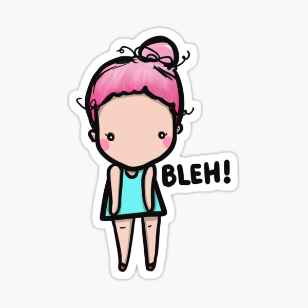 Monday BLeHhHs Sticker