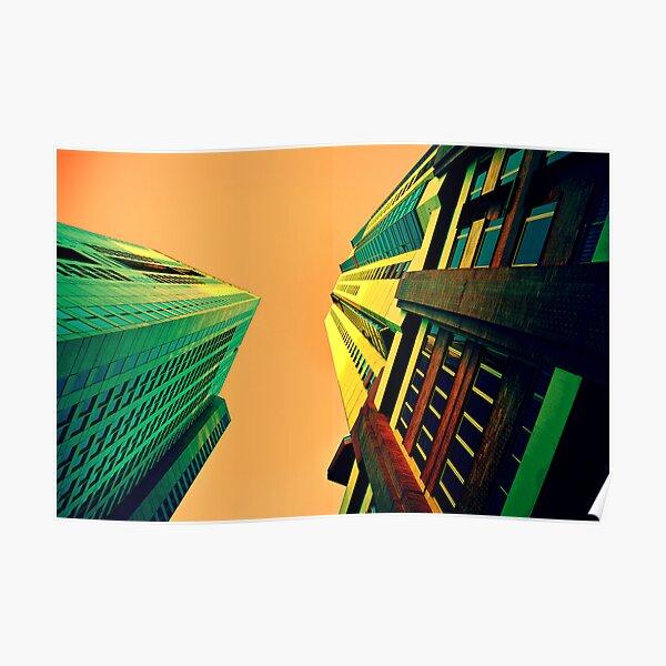 Urban sky Poster