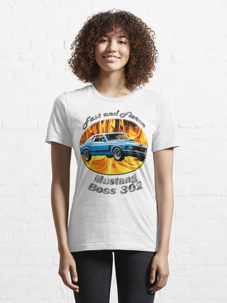 Alternate view of Ford Mustang Boss 302 Fast and Fierce Essential T-Shirt