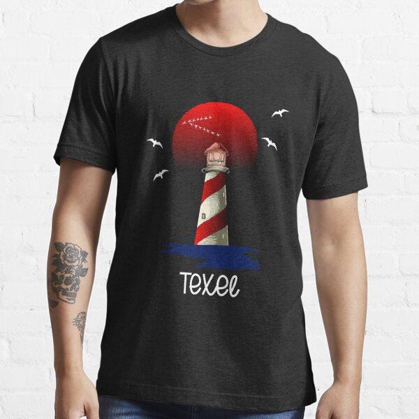 Texel Insel Leuchtturm Holland Niederlande Essential T-Shirt