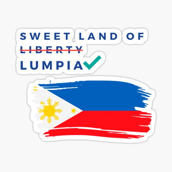Sweet Land of Lumpia Sticker