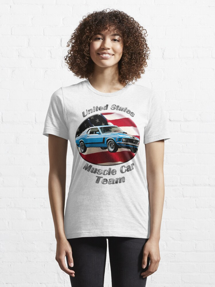 Alternate view of Ford Mustang Boss 302 Muscle Car Team Essential T-Shirt