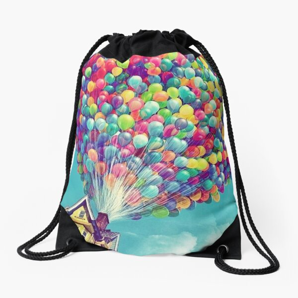 House in the air  Drawstring Bag