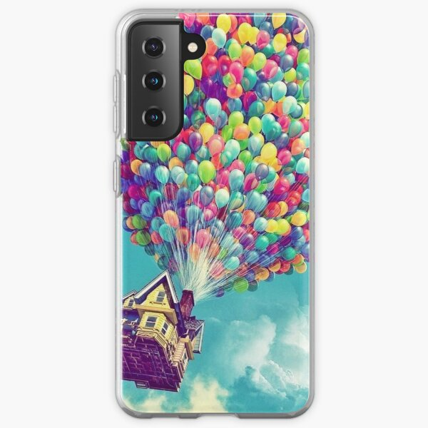 House in the air  Samsung Galaxy Soft Case