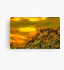 Stirling Castle in Scotland Canvas Print