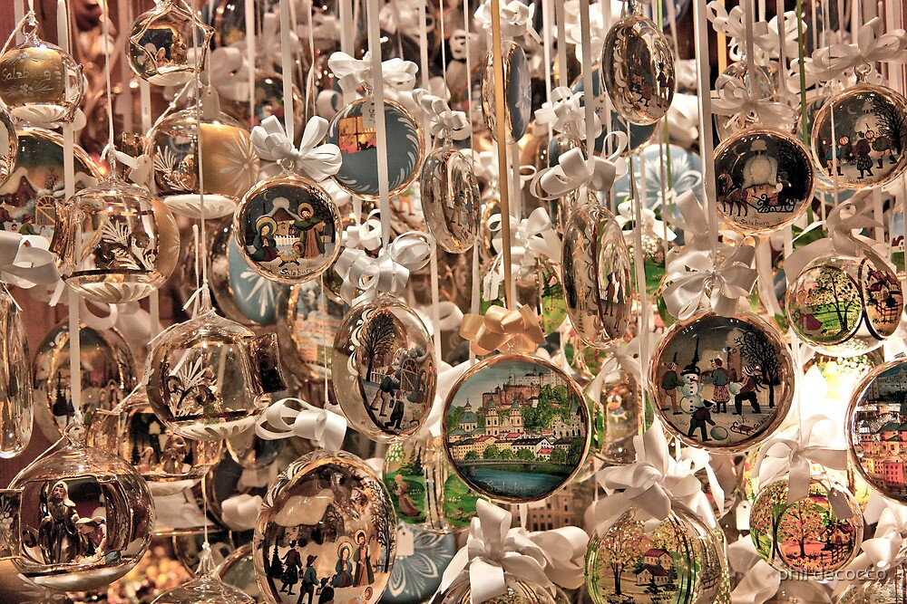Austrian Ornaments by phil decocco