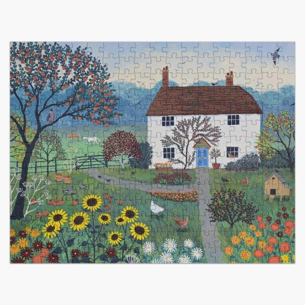 Apple Tree Cottage Jigsaw Puzzle