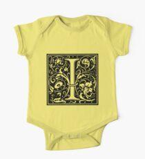 William Morris Renaissance Style Cloister Alphabet Letter I Kids Clothes