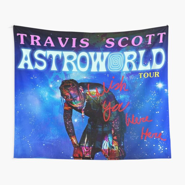 tired fire travis Tapestry