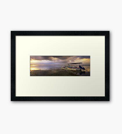 """Sanur Bali - """"Like A Sunrise""""  Framed Print"""