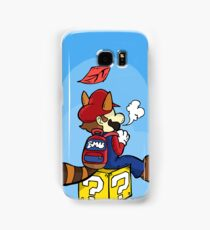 Super High Mario Samsung Galaxy Case/Skin