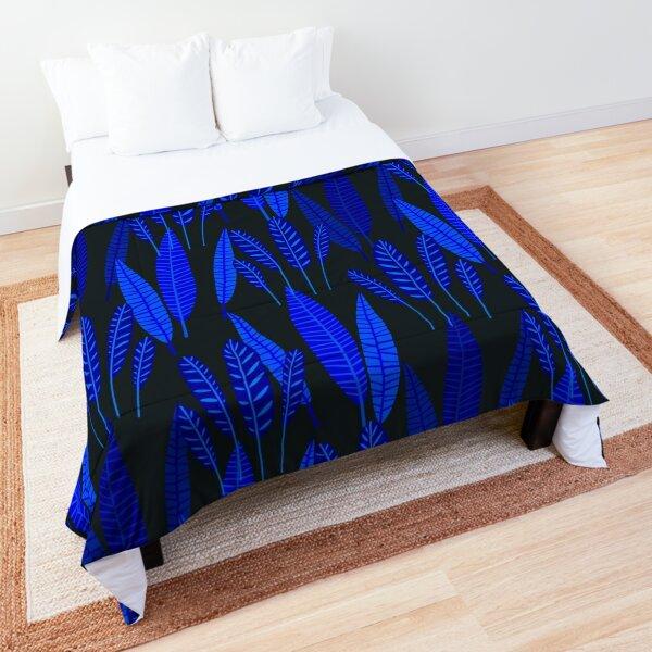 Neo Tropical - Night Garden Comforter