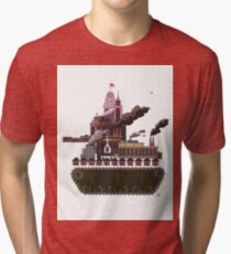 Military-Industrial Complex Tri-blend T-Shirt